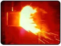 image of an arc flash