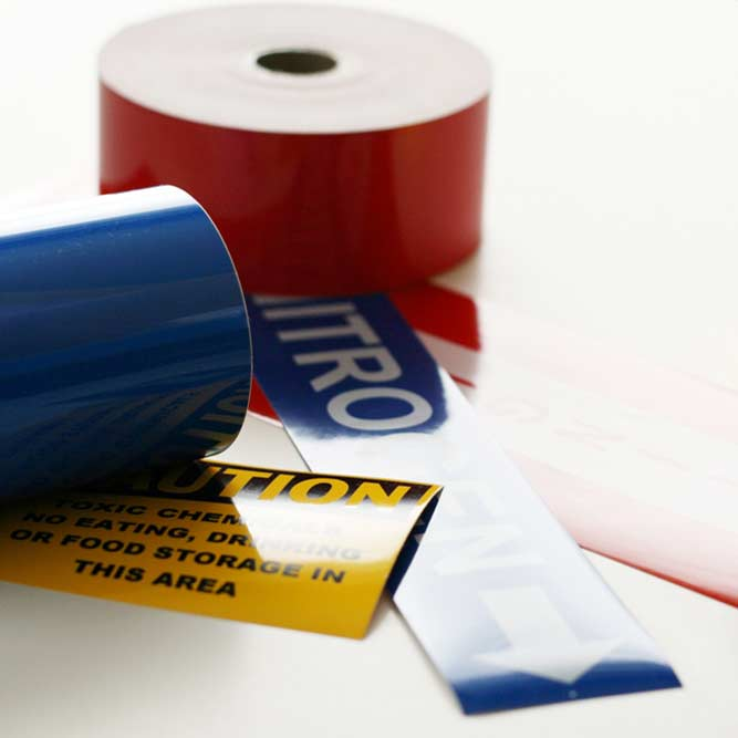 Image of vinyl label tape products